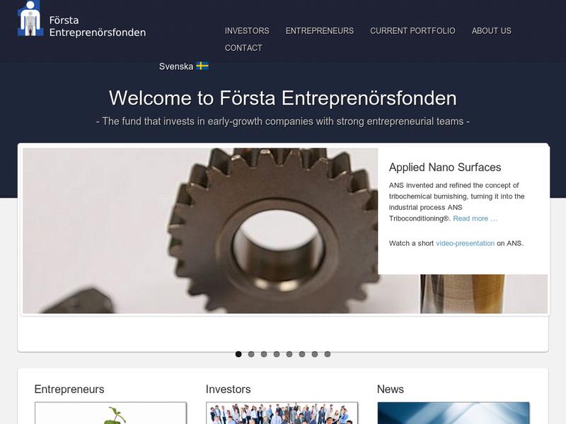 Första Entrepenadfonden